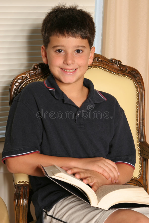 Reader two royalty free stock image