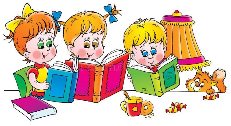Readers stock illustration