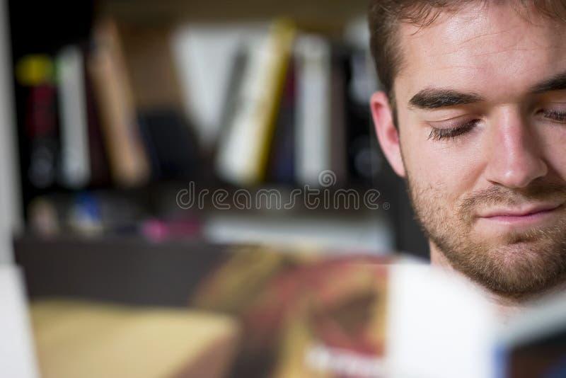 Reading stock photography