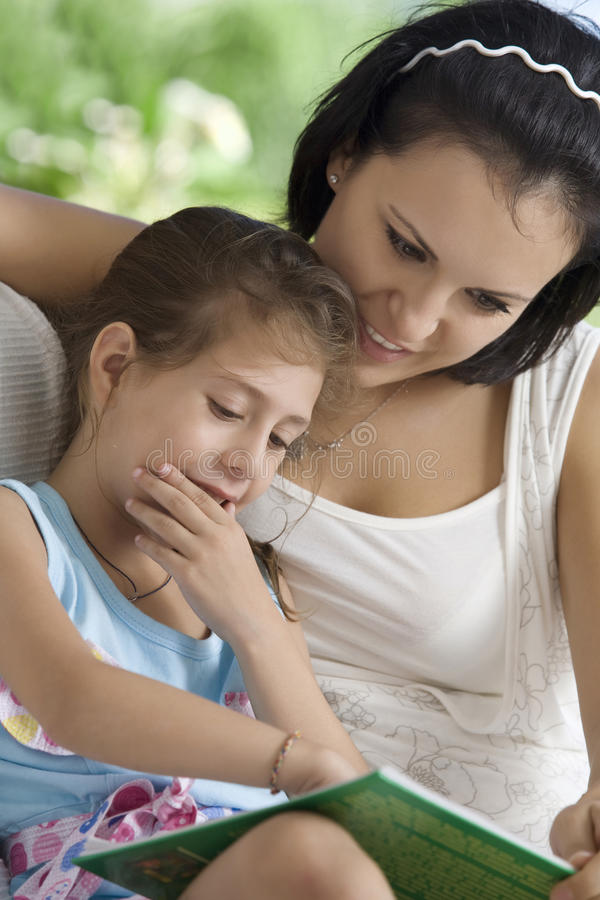 Download Reading stock image. Image of care, infant, life, loving - 14085147