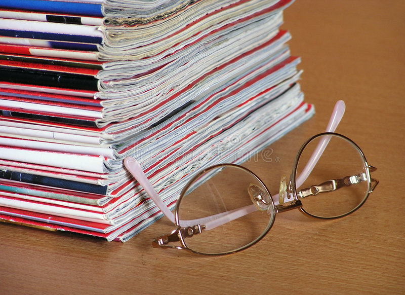 Download Reading stock photo. Image of information, periodicals - 163716