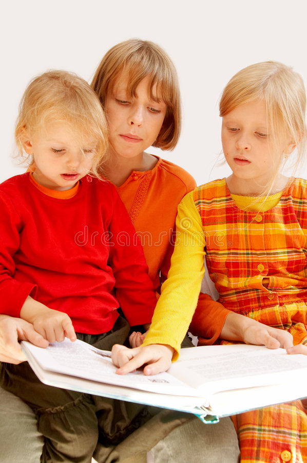 Download Reading stock photo. Image of family, book, library, books - 3400184