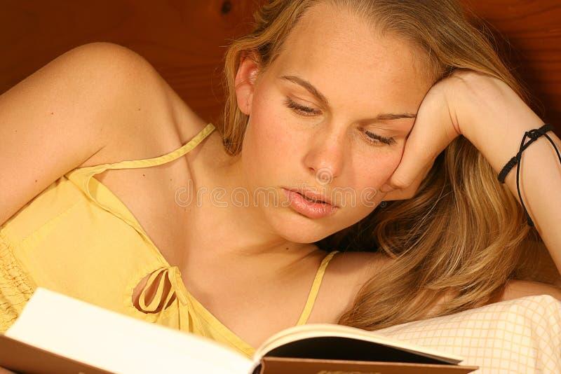 reading royalty free stock photo