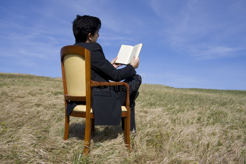 Download Reading stock image. Image of corporate, countryside, field - 9133067