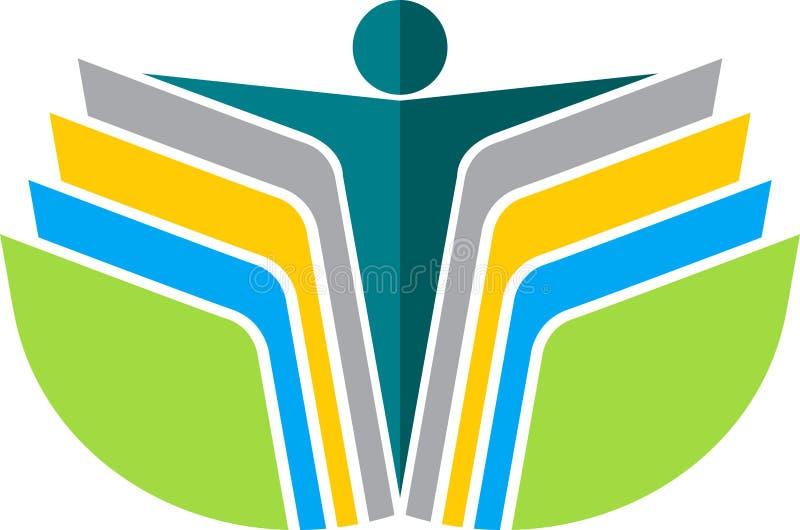 Download Reading Book Man Logo Stock Photos - Image: 22770983