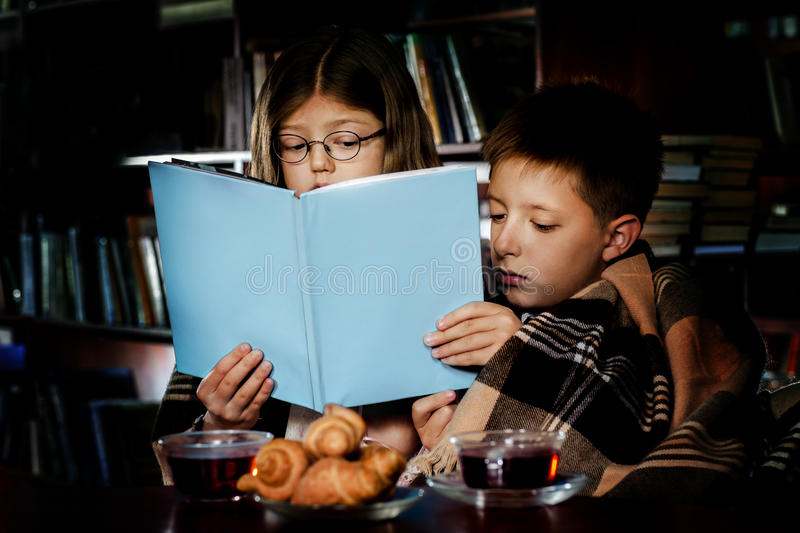 Download Reading Book At Night Stock Photography - Image: 26800872