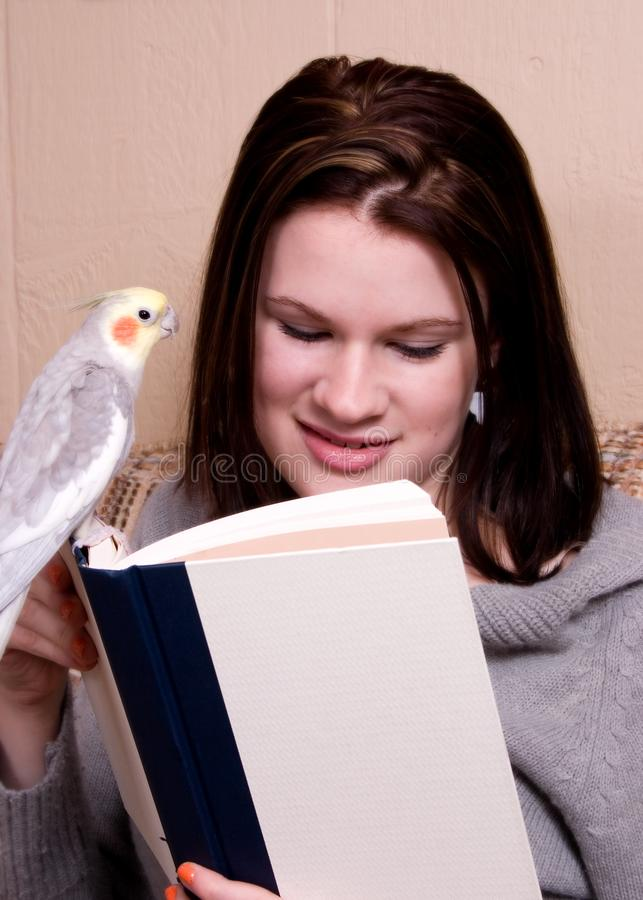 Reading Buddies royalty free stock images