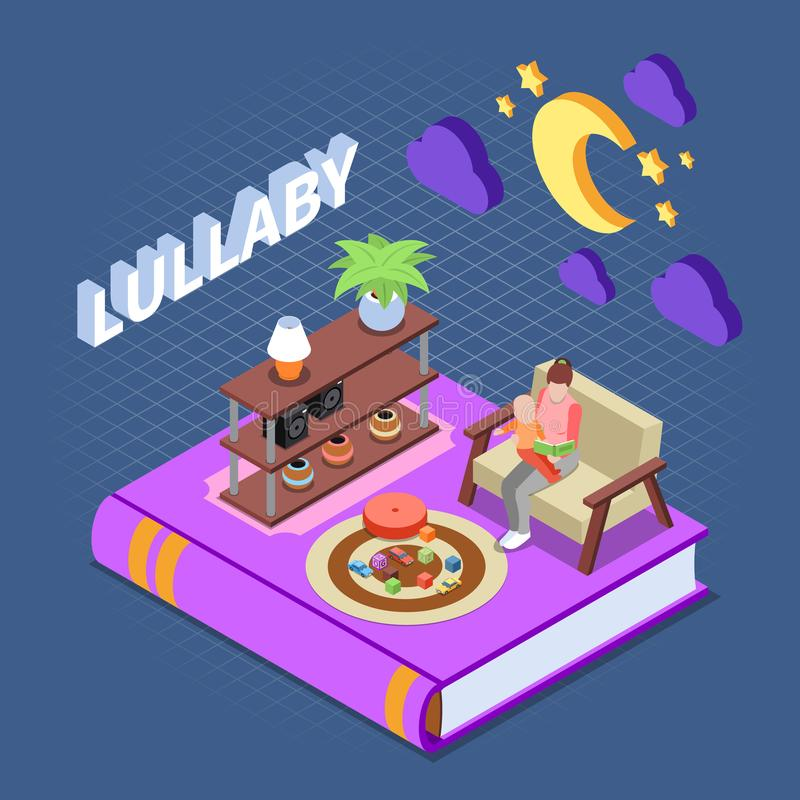 Lullaby Toy Concept Line Icon. Simple Element Illustration