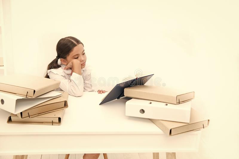 Reading Skills Cute Small Children Holding Books