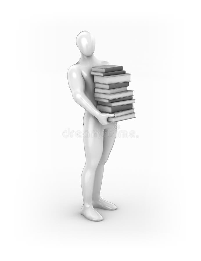 Download Reading man stock illustration. Image of write, author - 31528644