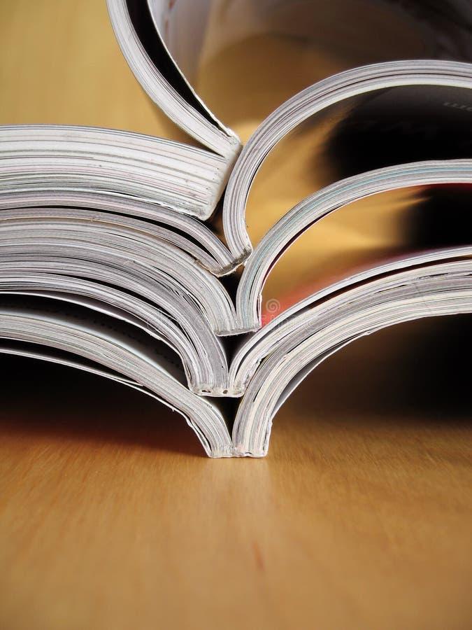 Reading Materials 4 royalty free stock photos
