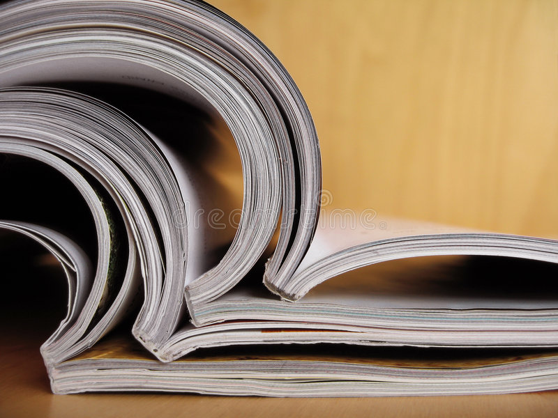 Reading Materials 6 royalty free stock image