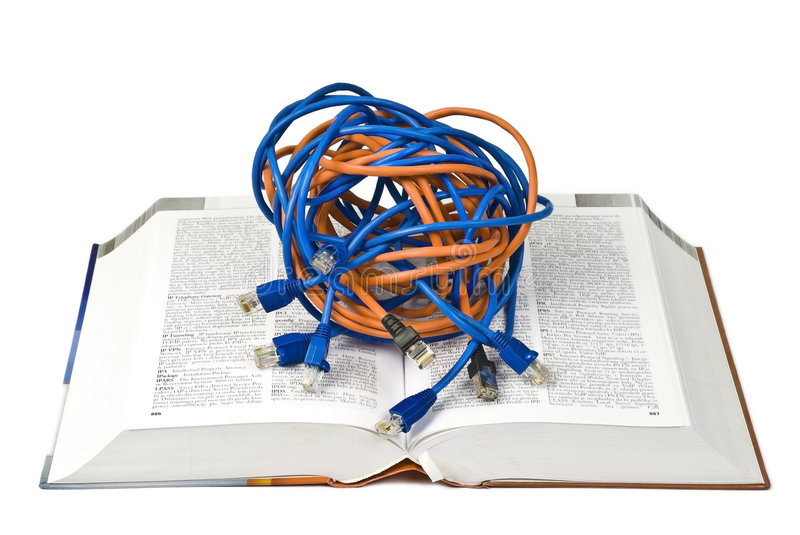 Reading network stock photography
