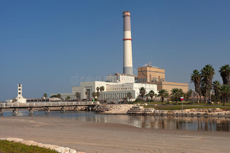 Reading power station. stock photography