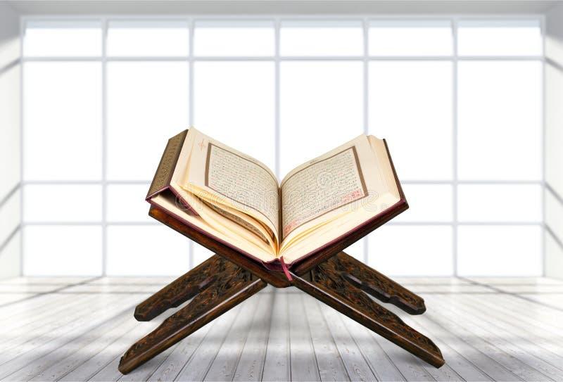 Reading Quran royalty free stock photo