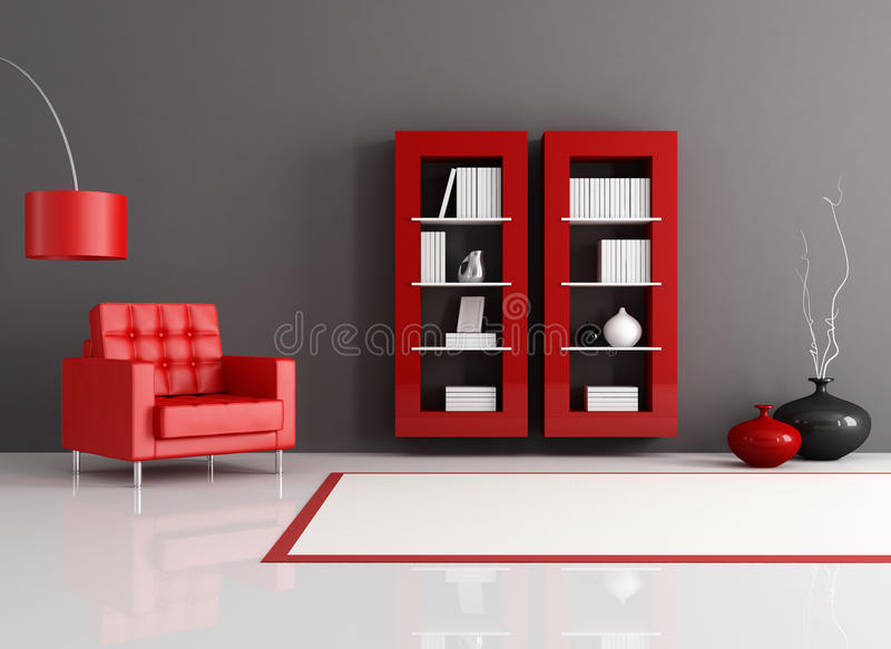 Reading room royalty free stock images