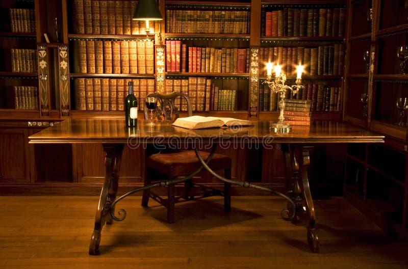 Reading room stock image