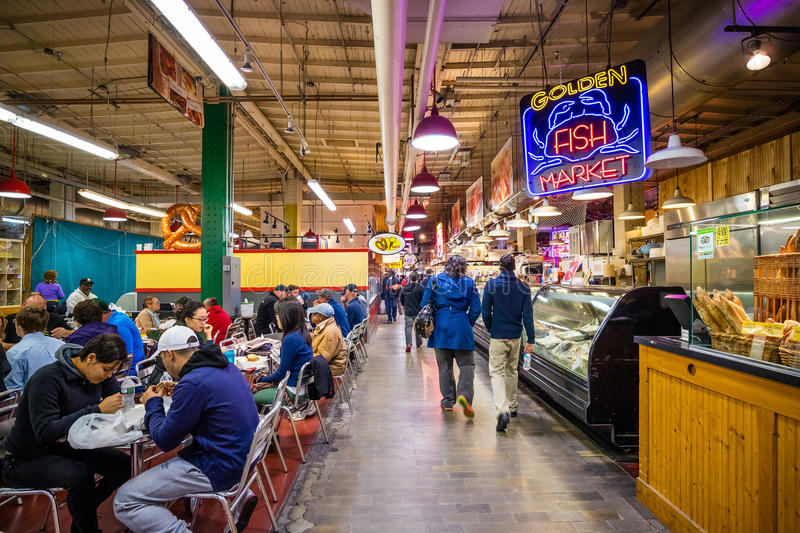 Reading Terminal Market stock photography