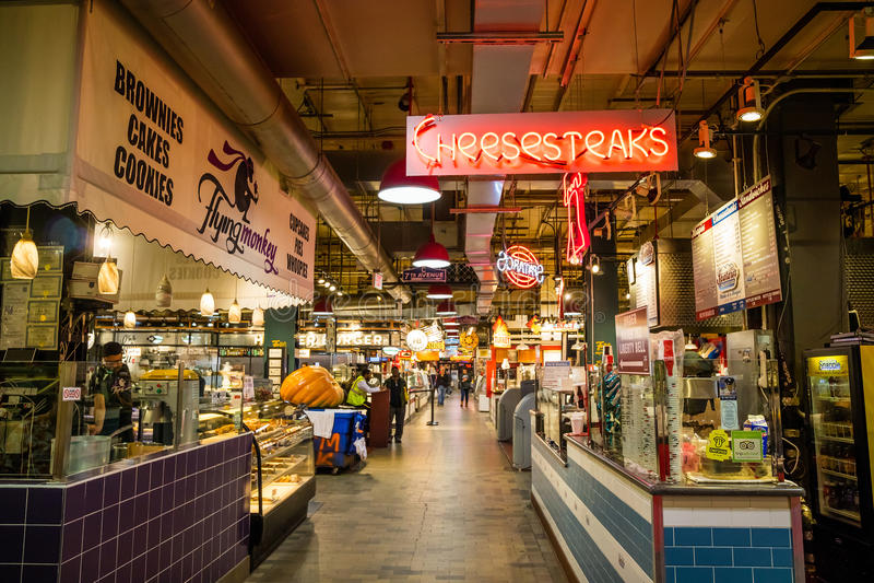 Reading Terminal Market stock photos