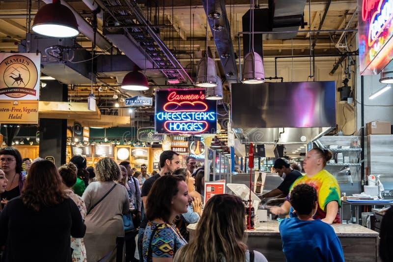 The Reading Terminal Market in Philadelphia, PA. royalty free stock photos