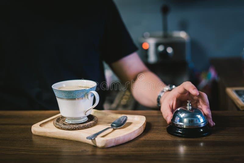 Ready coffee stock photo