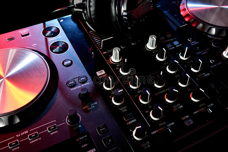 Download Ready for DJ s stock image. Image of mixing, broadcaster - 38718959