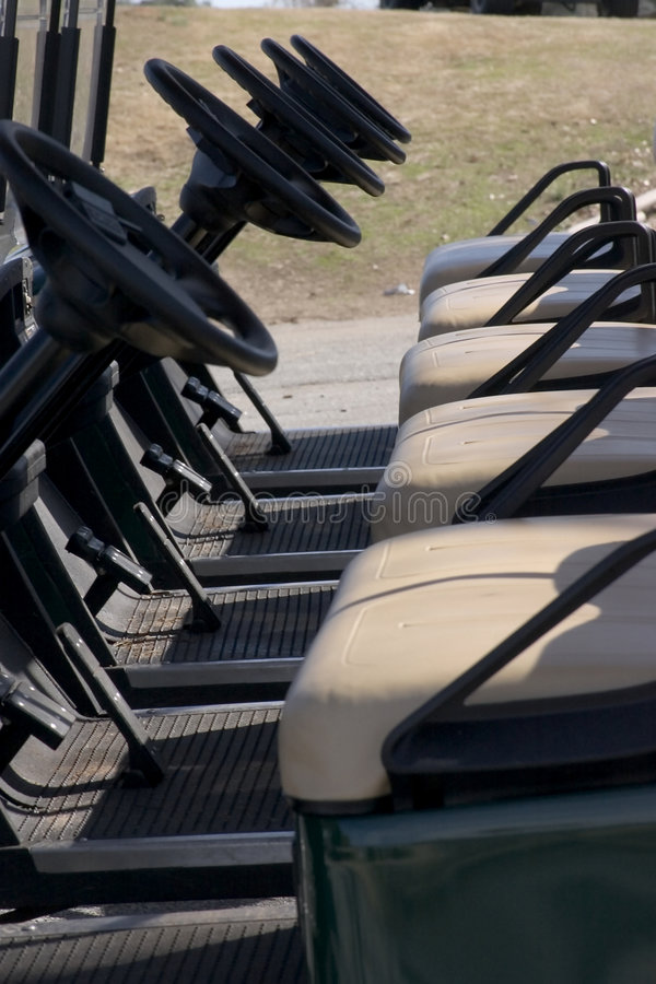 Download Ready Golf Carts Royalty Free Stock Photography - Image: 519497