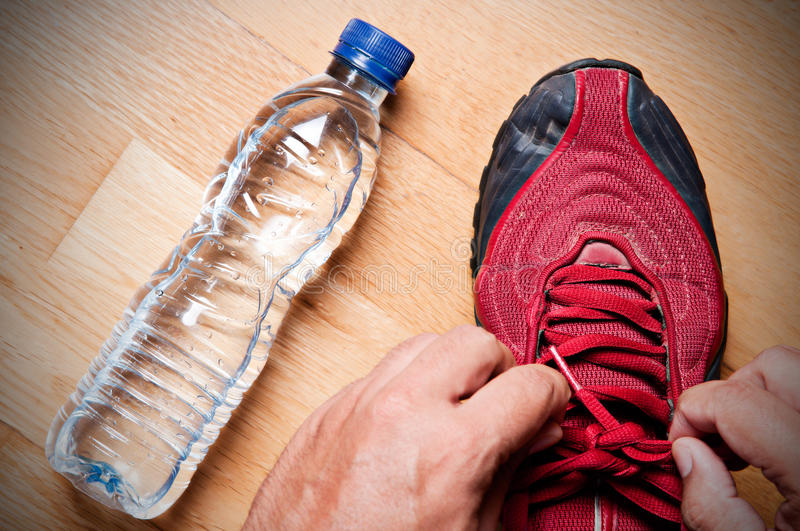 Download Ready for Jogging stock image. Image of leisure, sportswear - 26920129