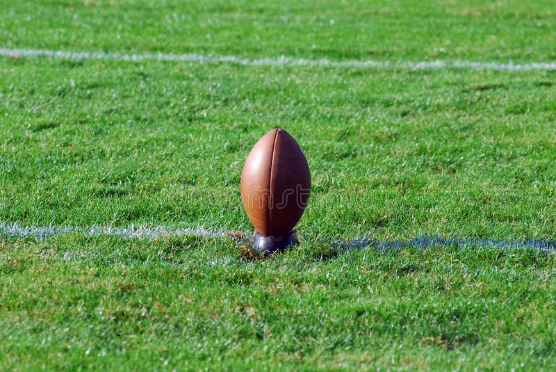 Ready For The Kickoff royalty free stock images