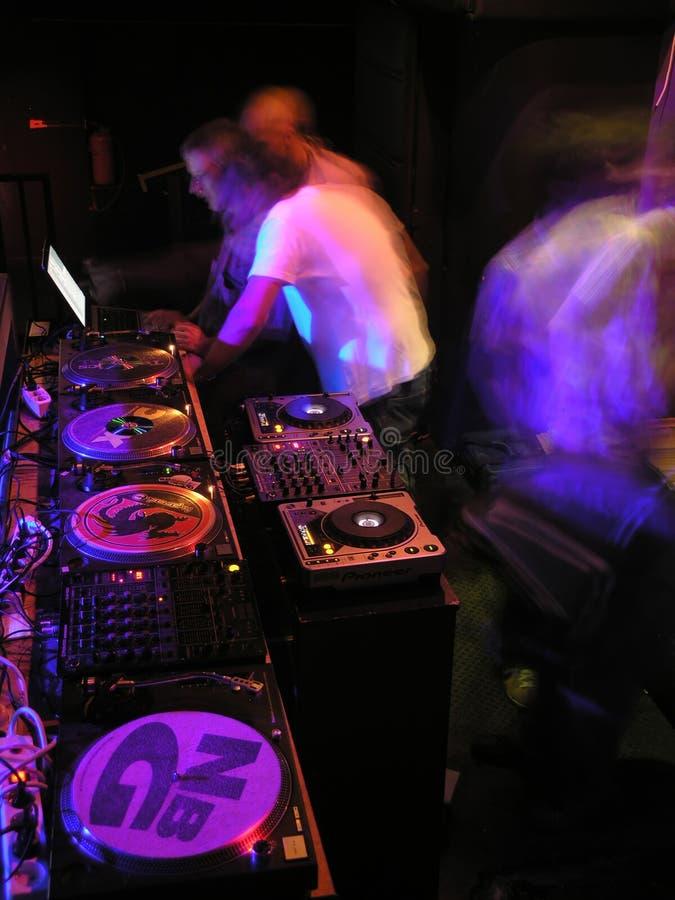 Ready per i DJ fotografia stock libera da diritti