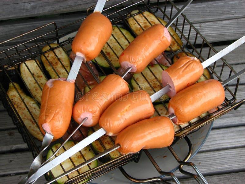 Ready per il barbecue immagine stock libera da diritti