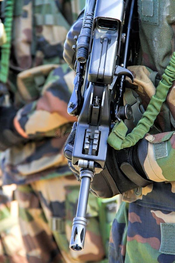 Ready per il combattimento fotografia stock libera da diritti