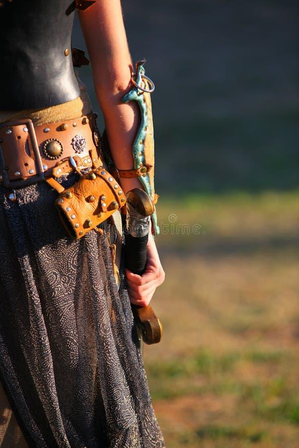 Ready per la battaglia fotografie stock libere da diritti