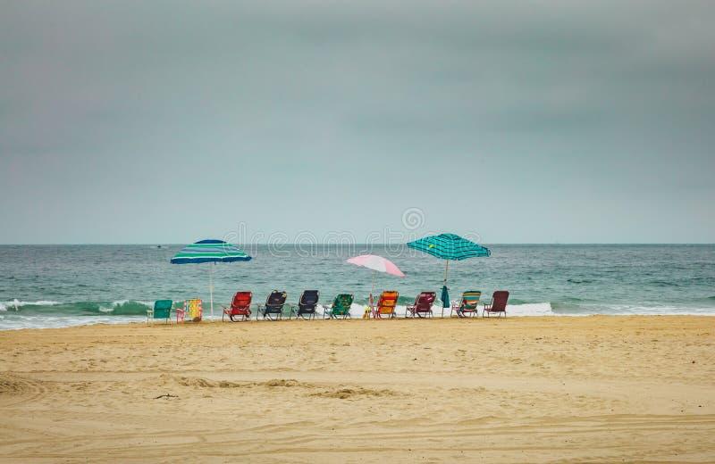 Ready per un giorno alla spiaggia fotografie stock libere da diritti