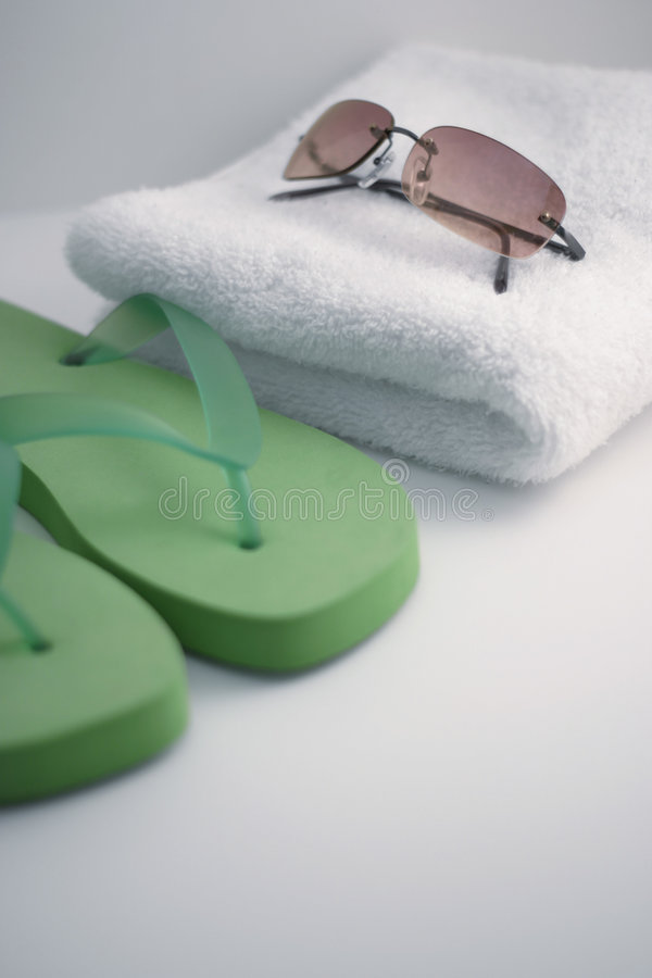 Ready for the pool! royalty free stock image