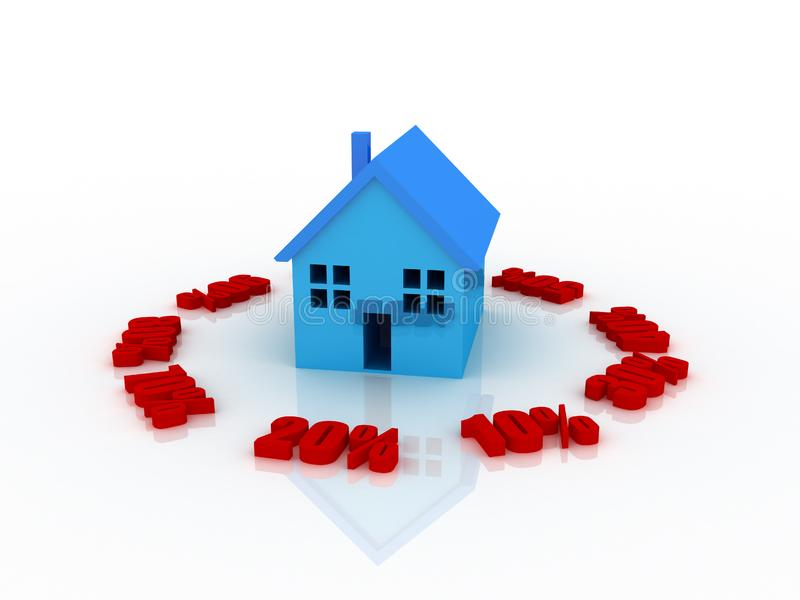 Download Ready for sale stock illustration. Illustration of home - 8527566
