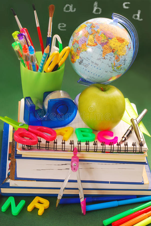 Download Ready for school stock photo. Image of notebook, idea - 20498758