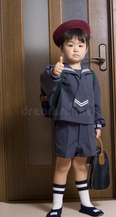 Ready for school royalty free stock photography