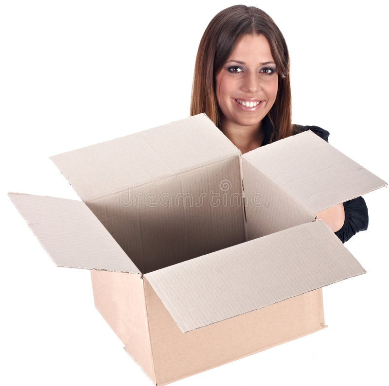 Download Ready for shipment stock photo. Image of cute, delivery - 8450822