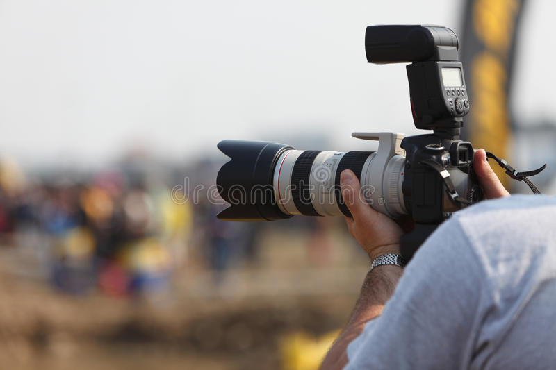 Download Ready for shooting stock image. Image of flash, digital - 9453969