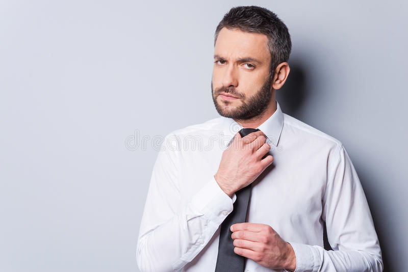 Ready to business meeting. stock image