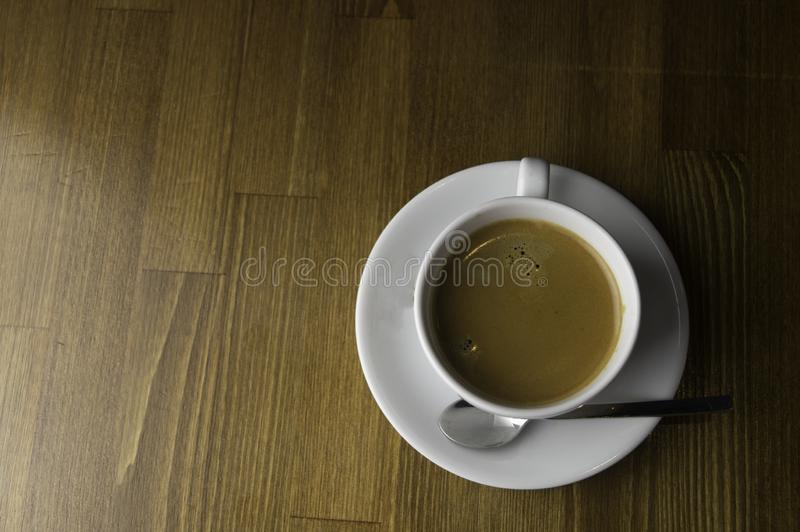 the ready to drink a cup of coffee stock photos