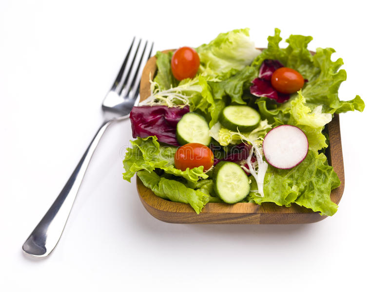 Ready to eat salad stock photography