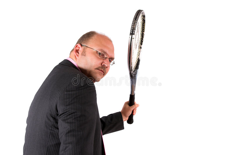Download Ready To Fight The Competition Stock Image - Image: 1081229
