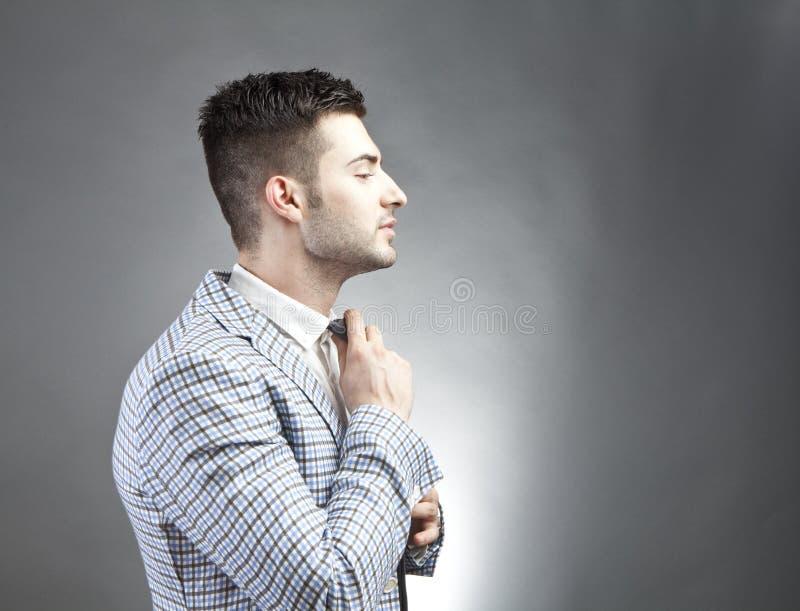 Trendy man stock photography