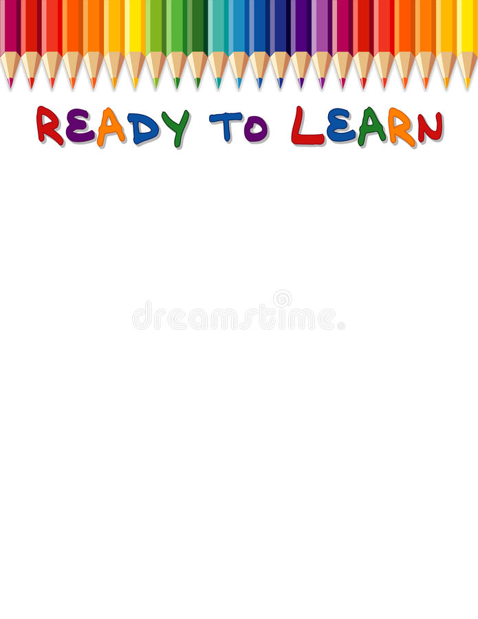 Ready To Learn Royalty Free Stock Photo