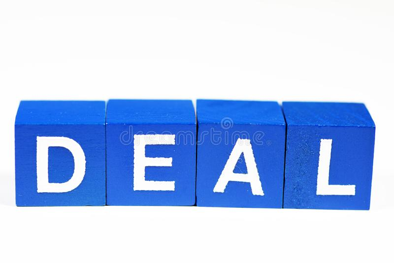 Ready to make another business deal royalty free stock photography