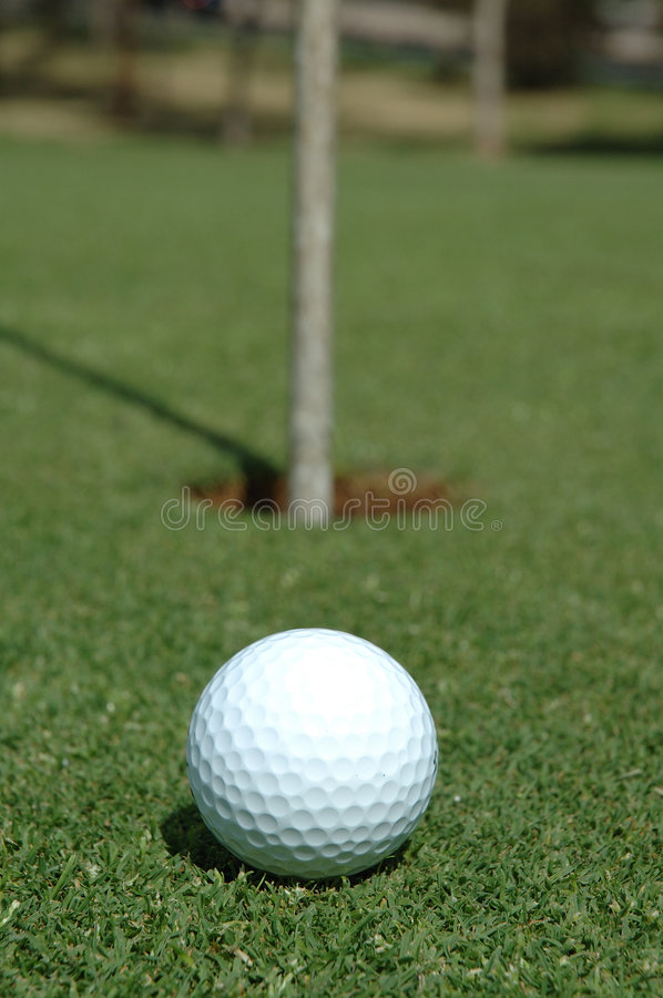 Download Ready to Putt stock image. Image of time, strike, grass - 1953499