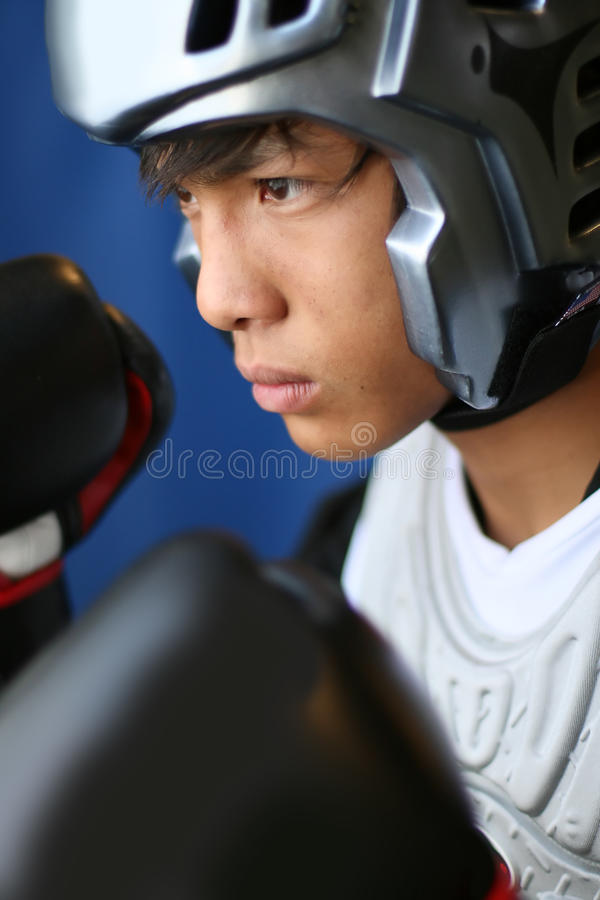 Download Ready to Rumble stock image. Image of focus, karate, combat - 18811371