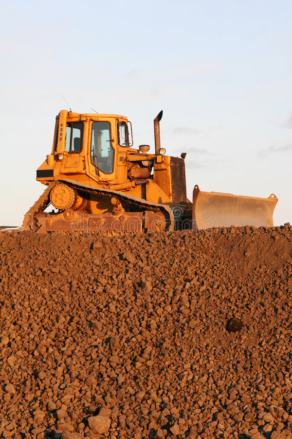Download Ready to rumble stock image. Image of bulldozer, move, mover - 807793